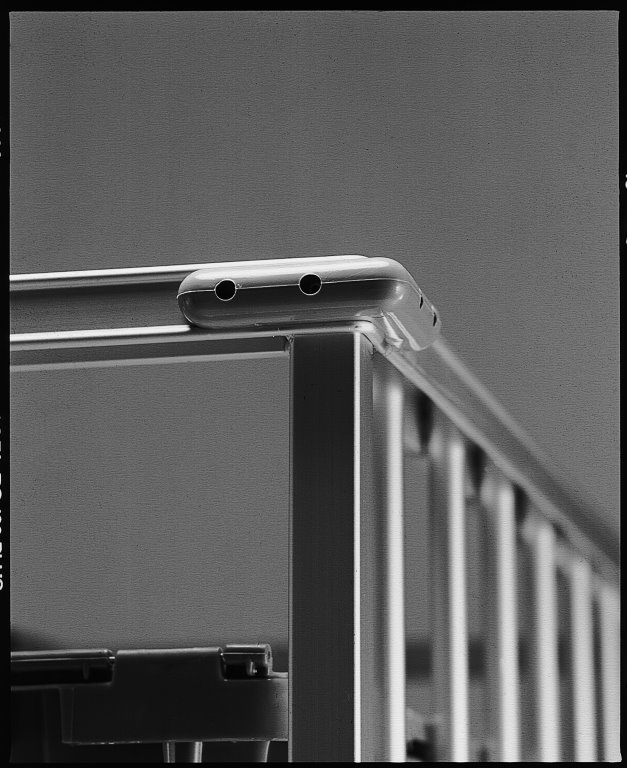 Grey Corner bumper