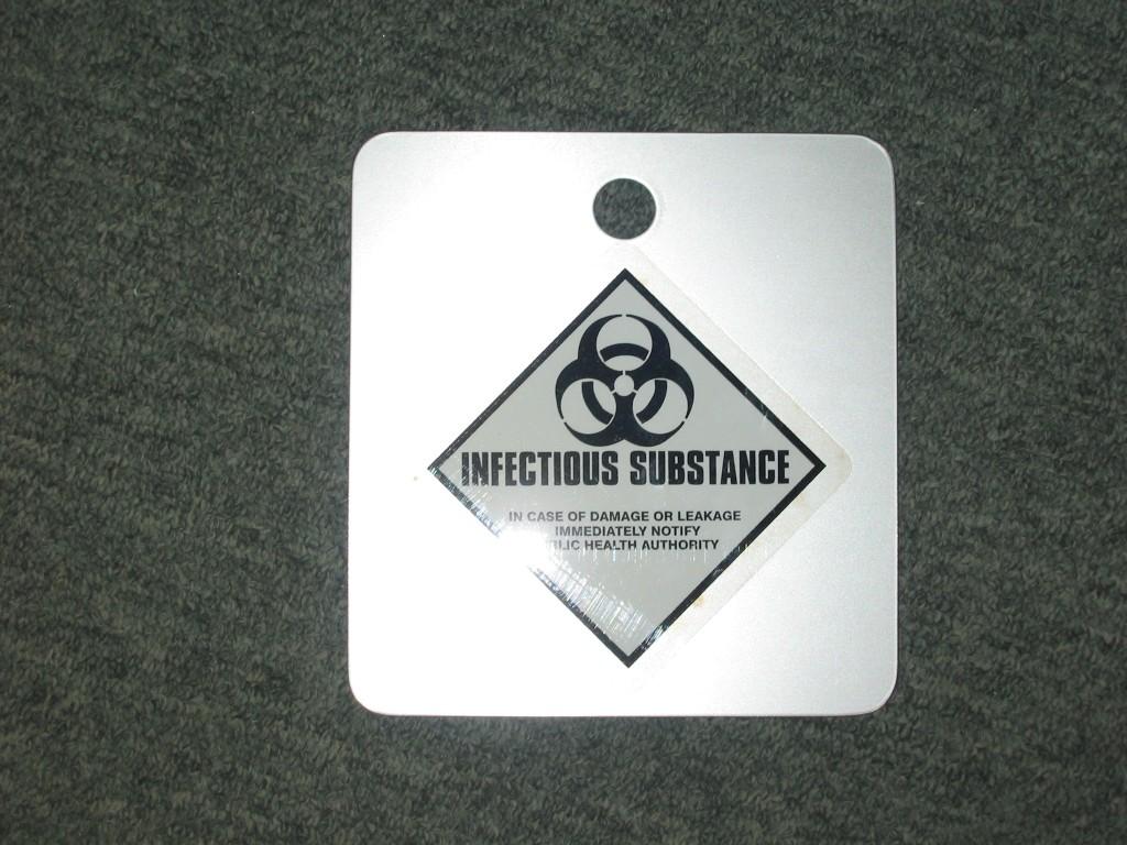 Bio Hazard flip card