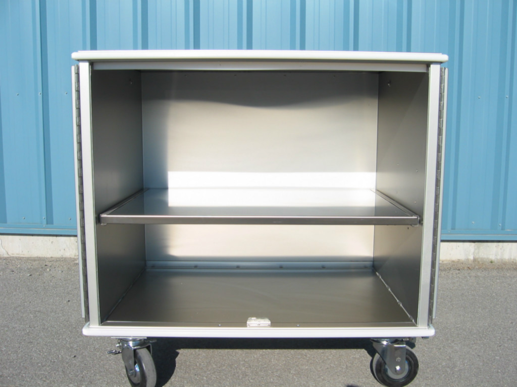 Stainless steel removable shelf