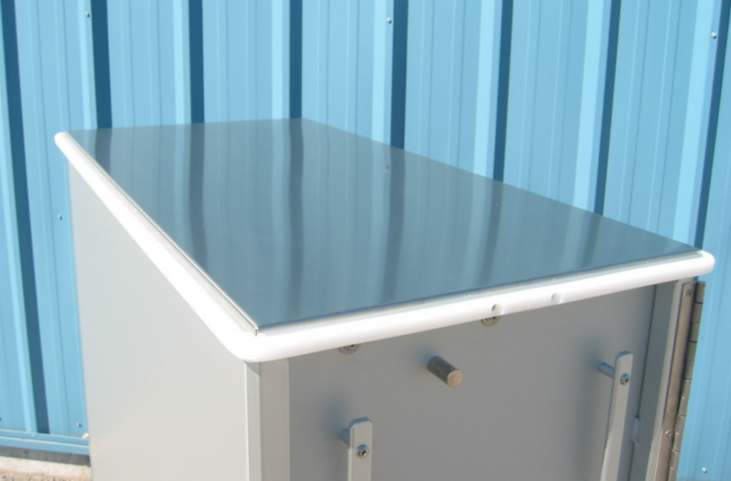 Stainless Steel Closed Top